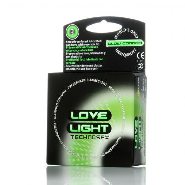 Preservativo Love Light fluorescente x144